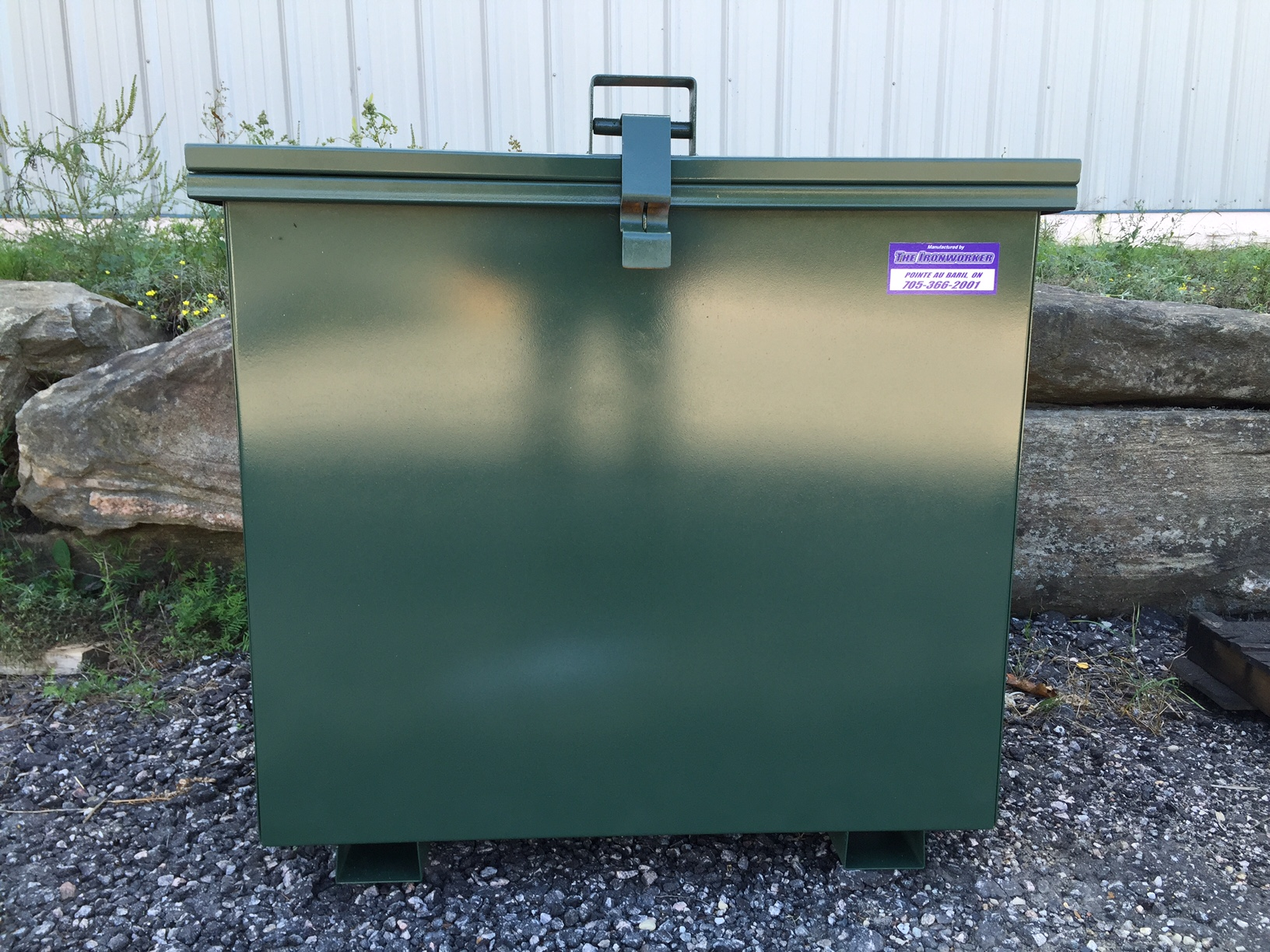 Bear Proof Garbage Bin 36inch